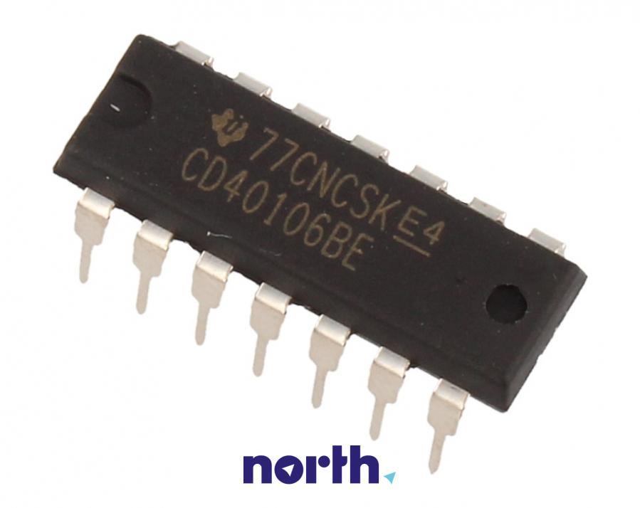 Układ scalony CD40106BE Texas Instruments,0