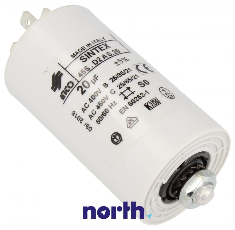 Kondensator rozruchowy do pralki Whirlpool 481912118286,0