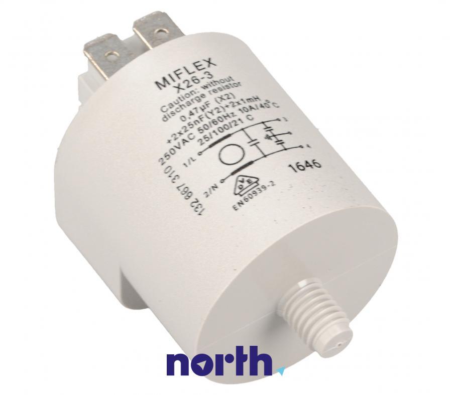 Filtr przeciwzakłóceniowy do pralki AEG 3792740007,0