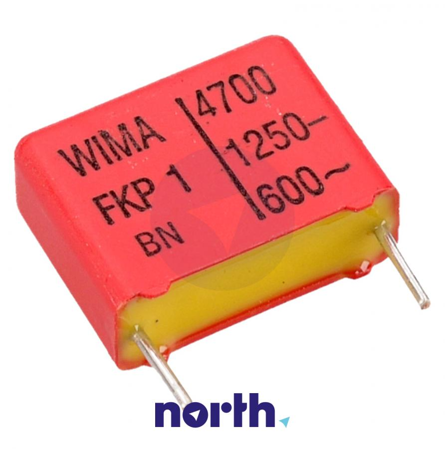 4.7nF   1250V Kondensator impulsowy FKP1 WIMA 14mm,0