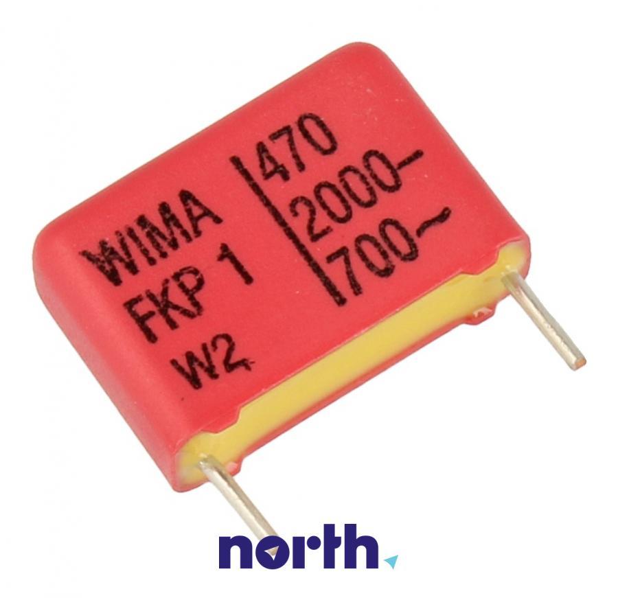 Kondensator impulsowy FKP1 470pF/2000V FKP1U004704C00KSSD Wima,0