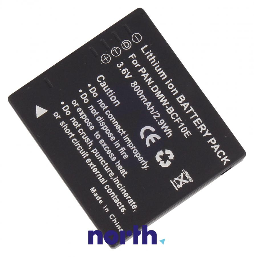 Akumulator 3.6V 800mAh do kamery Panasonic DMW-BCF10E,1