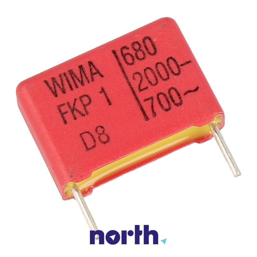 Kondensator impulsowy FKP1 680pF/2000V FKP1U006804C00MSSD Wima,0