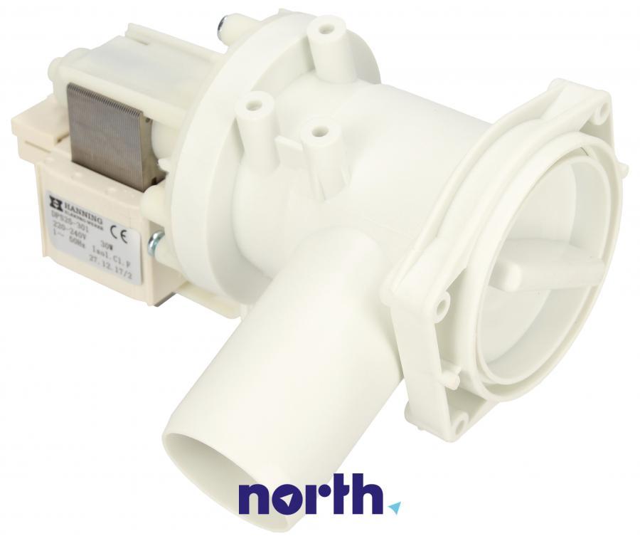 Pompa odpływowa kompletna (silnik + obudowa) do pralki Siemens,0