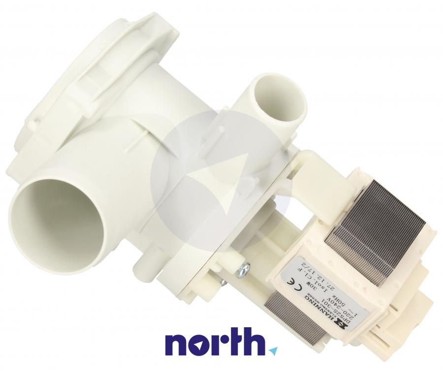 Pompa odpływowa kompletna (silnik + obudowa) do pralki Siemens,1