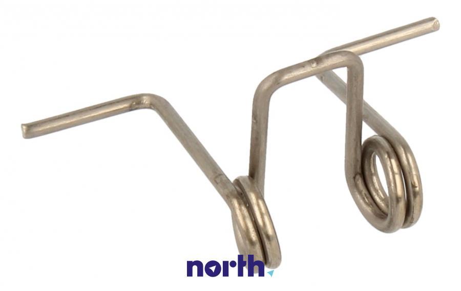Sprężyna zamka drzwi do pralki Techwood 35007443,0