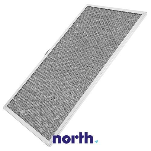 Filtr przeciwtłuszczowy kasetowy 46.8cm  x 25.6cm do okapu Arthur Martin 3918398011,0