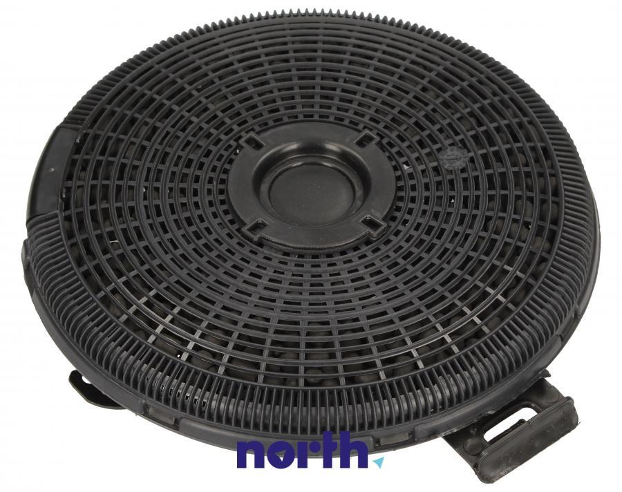 Filtr węglowy w obudowie okrągły do okapu Smeg 013410551,0
