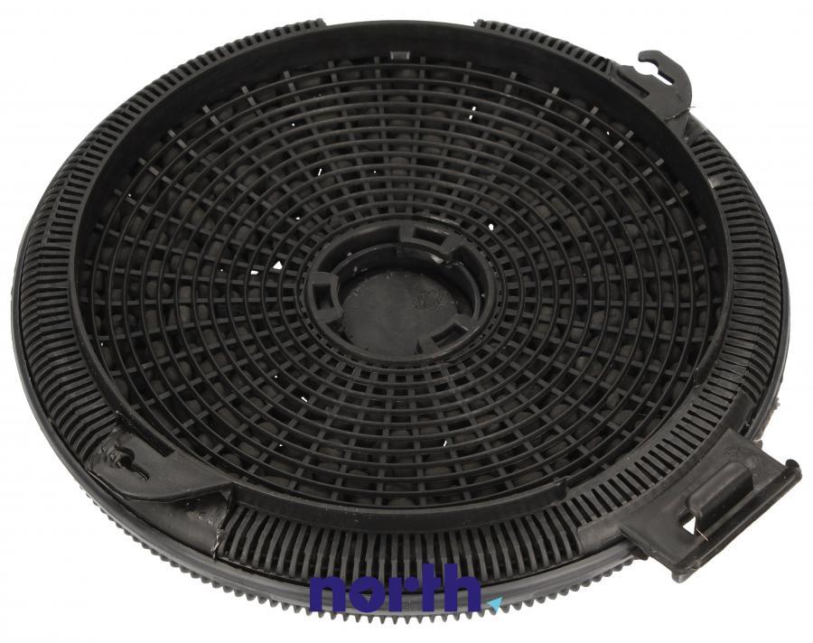 Filtr węglowy w obudowie okrągły do okapu Smeg 013410551,1
