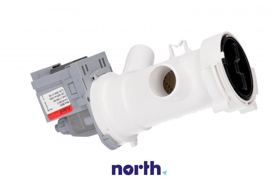 Pompa odpływowa kompletna (silnik + obudowa) do pralki Mastercook L71B014I1,3