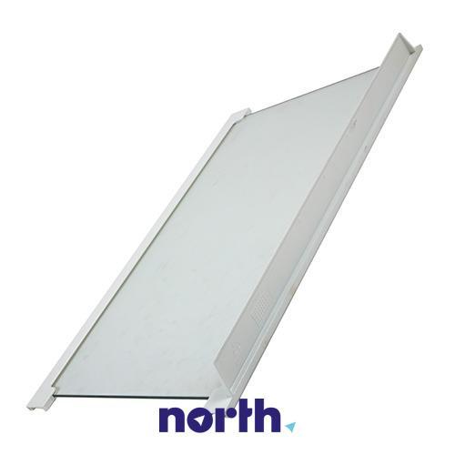 Półka szklana z ramkami do komory chłodziarki do lodówki AEG 2033787009,0