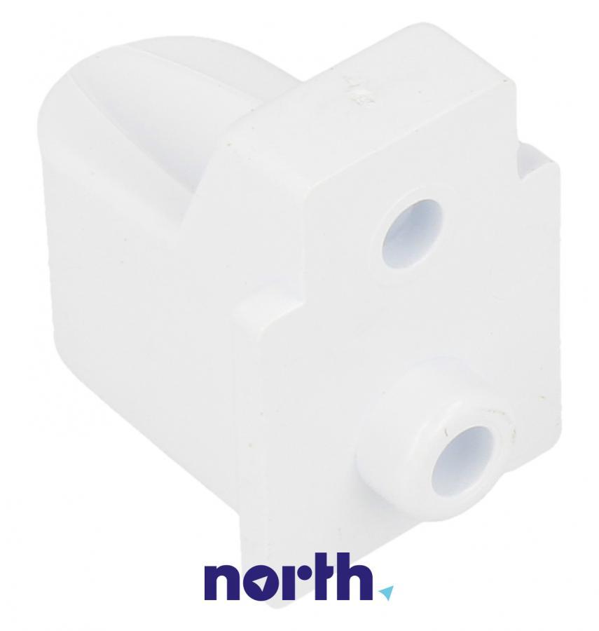 Zawias drzwiczek zamrażarki górnej do lodówki Indesit 482000022659,1