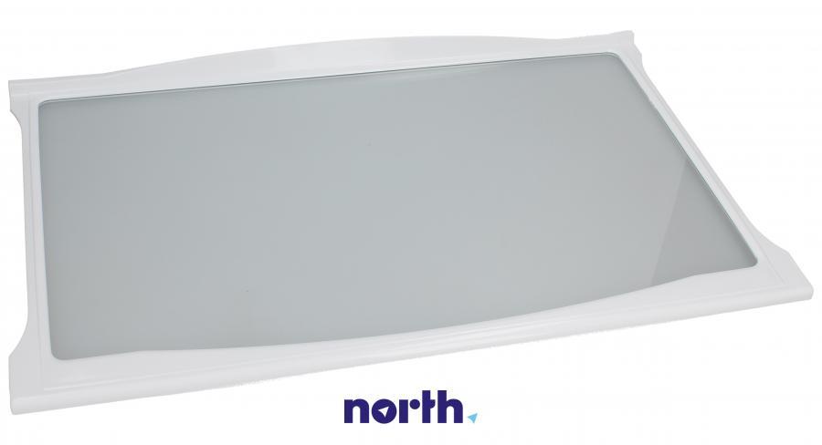 Półka szklana z ramkami do komory chłodziarki do lodówki Mastercook F260009S0,0