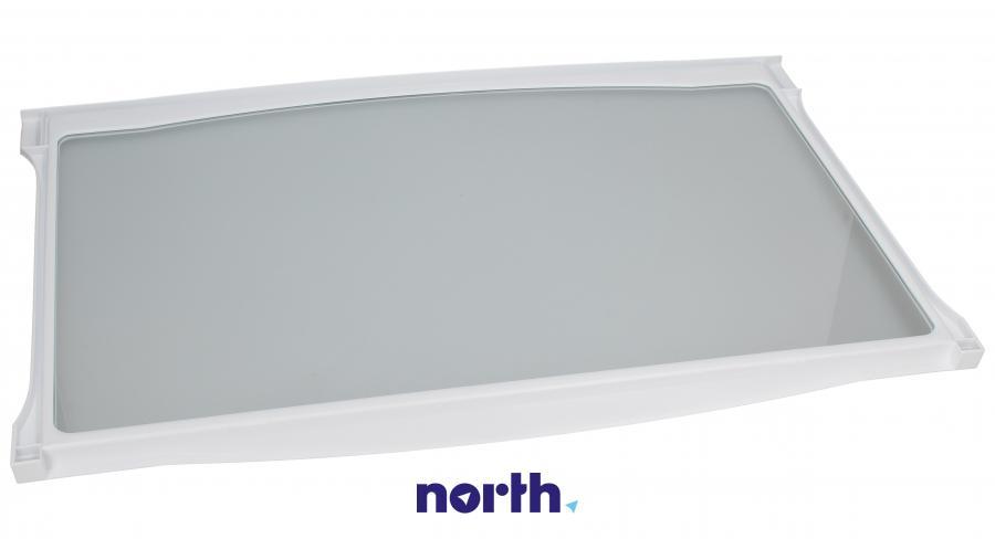 Półka szklana z ramkami do komory chłodziarki do lodówki Mastercook F260009S0,1