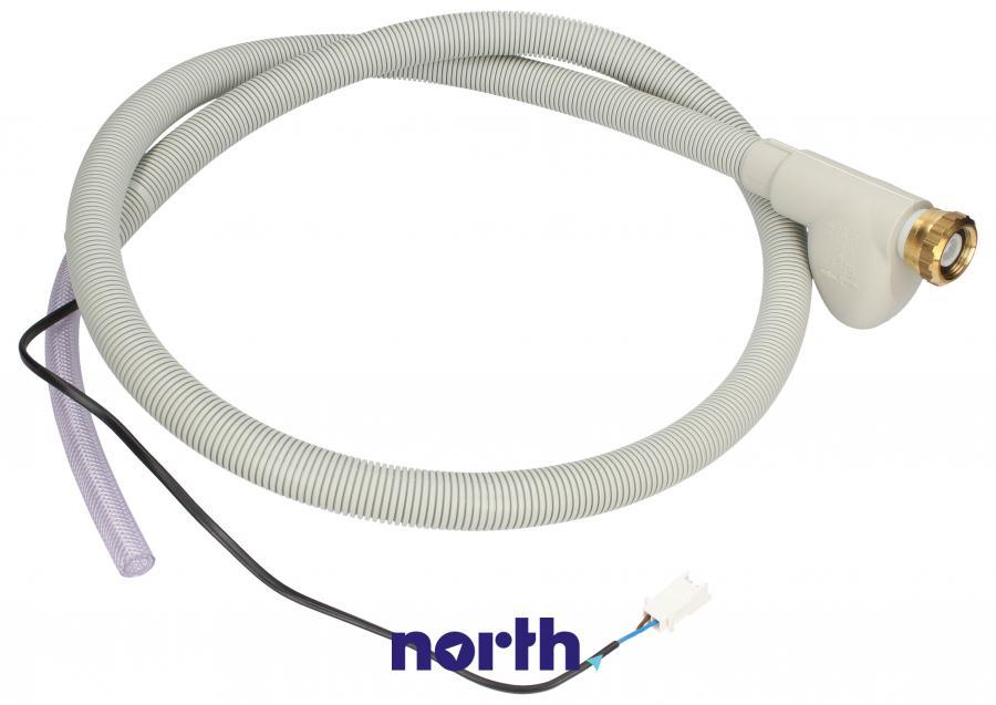 Wąż dopływowy z Aquastop 1.6m do zmywarki Whirlpool 480140102327,0