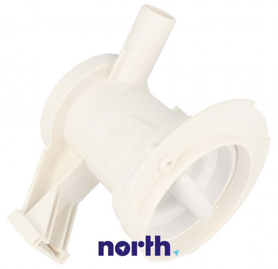 Filtr z obudową do pompy odpływowej do pralki Whirlpool 481248058089,0