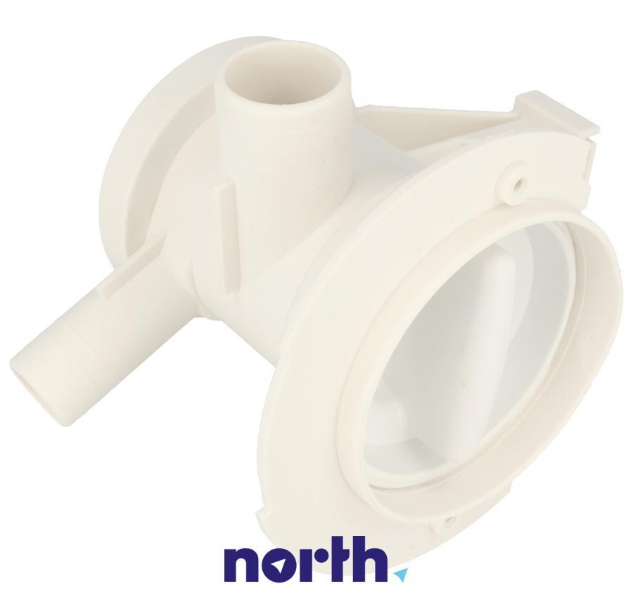 Filtr z obudową do pompy odpływowej do pralki Whirlpool 481248058089,2
