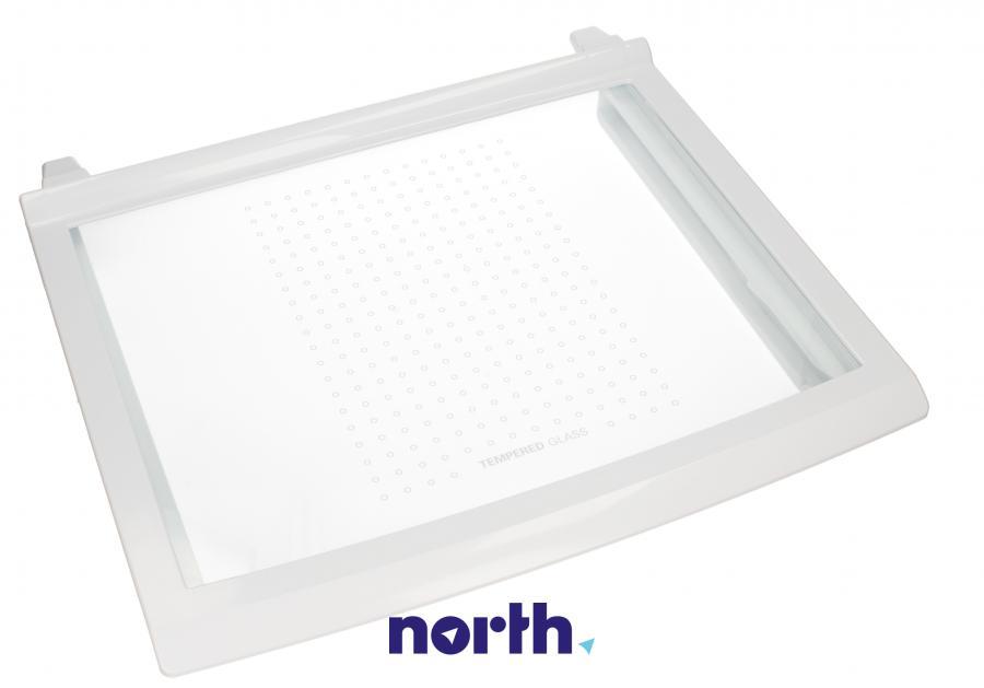 Półka szklana z ramkami do komory chłodziarki do lodówki LG AHT31852702,0