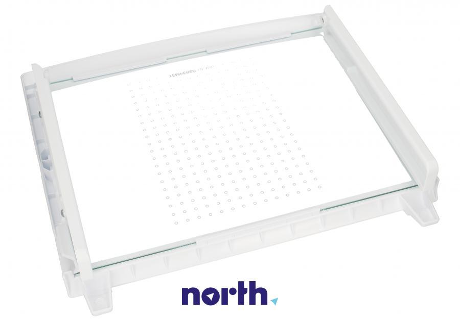 Półka szklana z ramkami do komory chłodziarki do lodówki LG AHT31852702,1