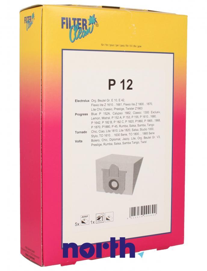 Worki P12 5szt. do odkurzacza Electrolux,0