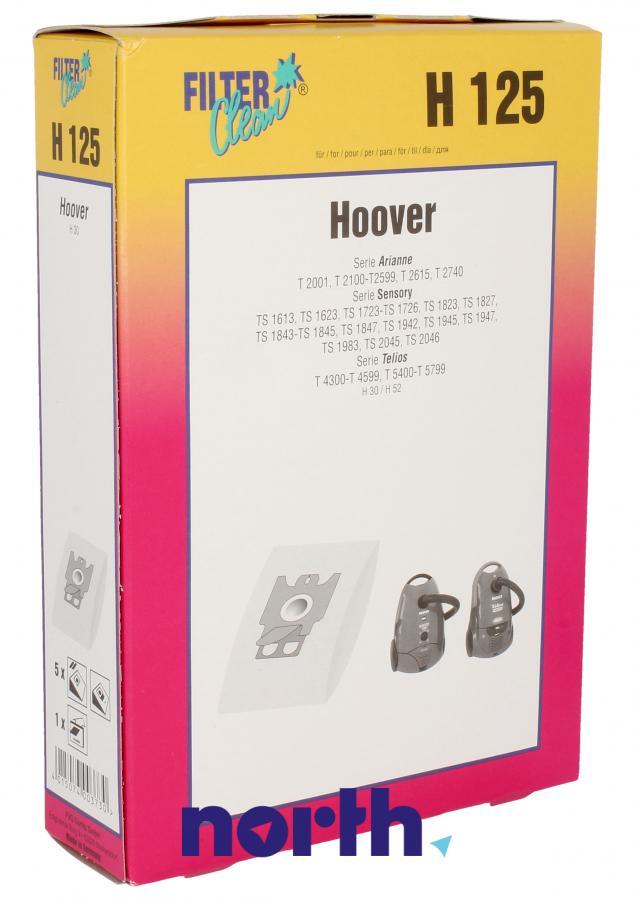 Worki H125 5szt. do odkurzacza Hoover,0