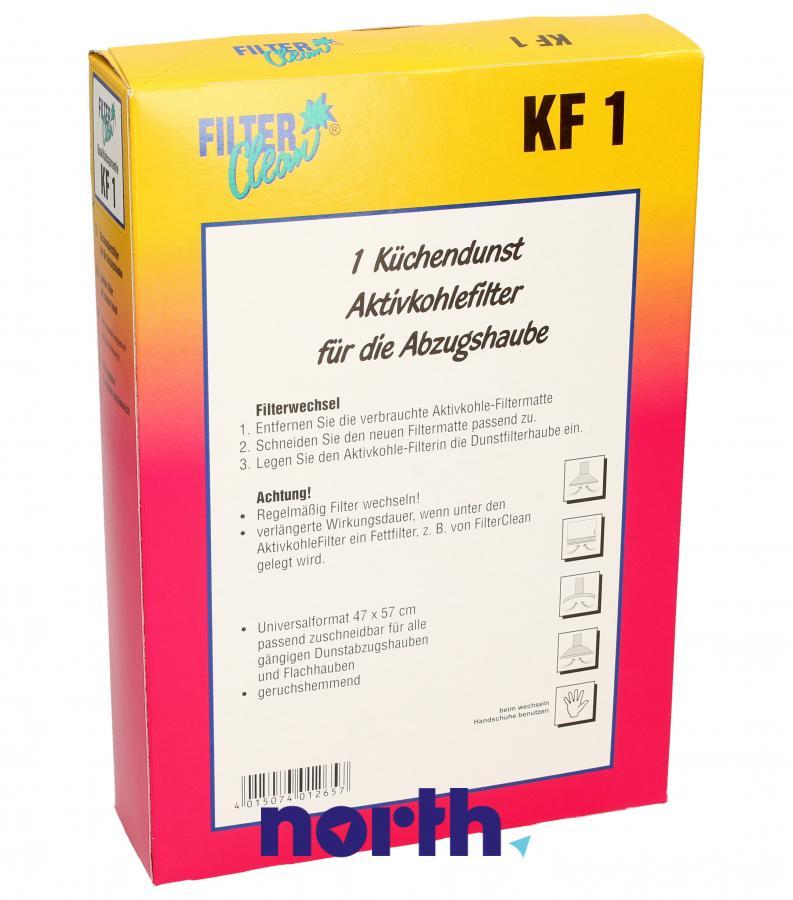 Filtr węglowy uniwersalny do okapu FILTERCLEAN KF1 300004-KDK,1