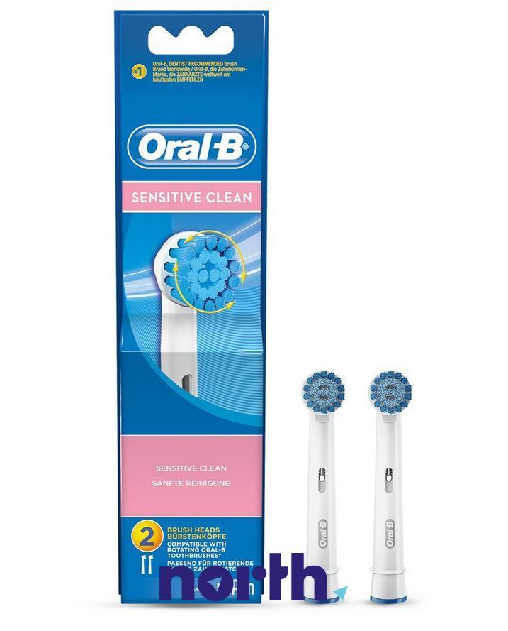 Końcówki Oral-B Sensitive Clean do szczoteczki do zębów Oral-B EBS17-2 64711706,0