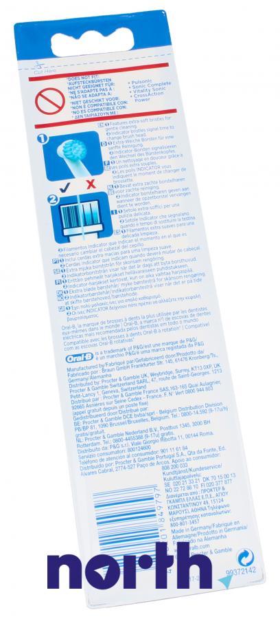 Końcówki Oral-B Sensitive Clean do szczoteczki do zębów Oral-B EBS17-2 64711706,5