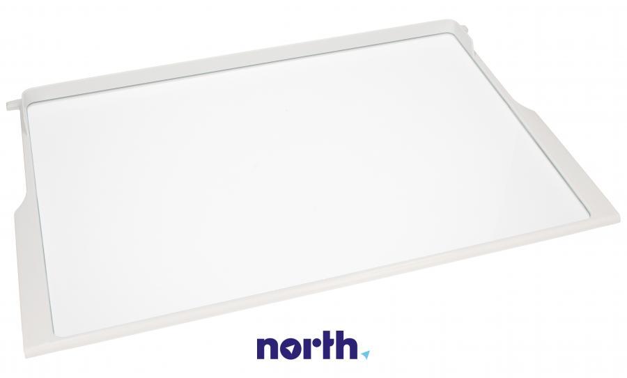 Półka szklana z ramkami do komory chłodziarki do lodówki Bosch 00701672,0
