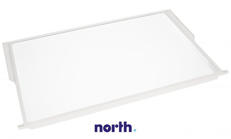 Półka szklana z ramkami do komory chłodziarki do lodówki Bosch 00701672,1
