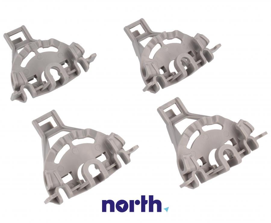 Zaczepy grzebienia kosza dolnego do zmywarki Bosch 00418675,3