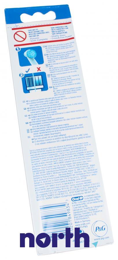 Końcówki Oral-B Sensitive Clean do szczoteczki do zębów Oral-B EBS17-4 64711708,1