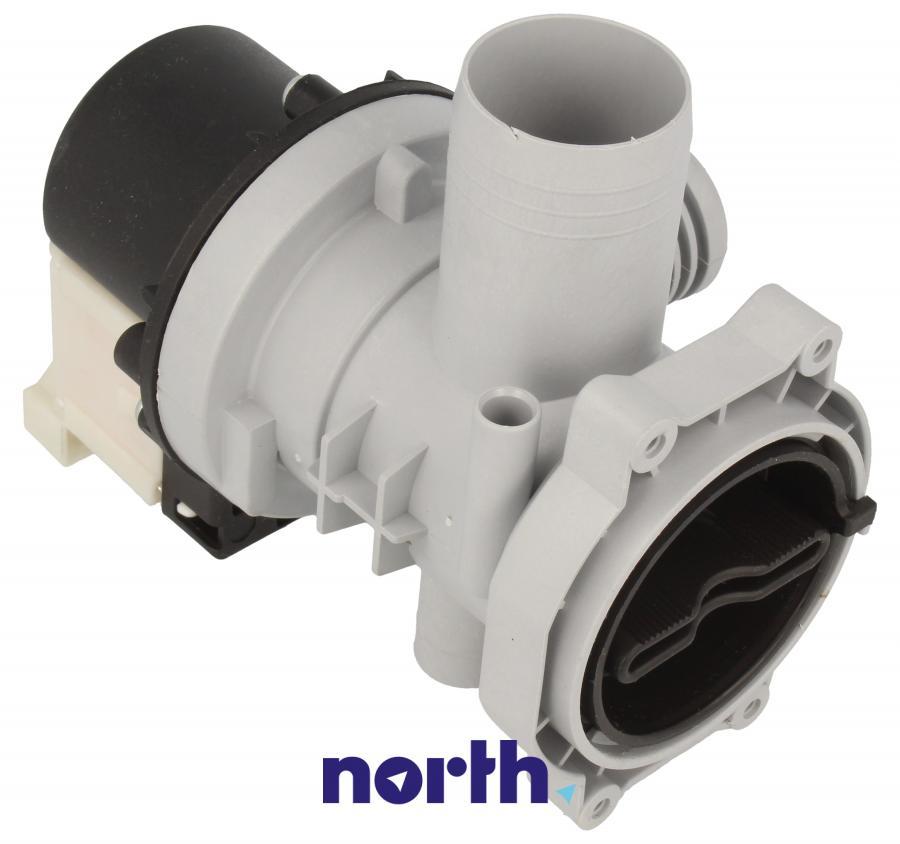 Pompa odpływowa kompletna (silnik + obudowa) do pralki Indesit 482000027683,0