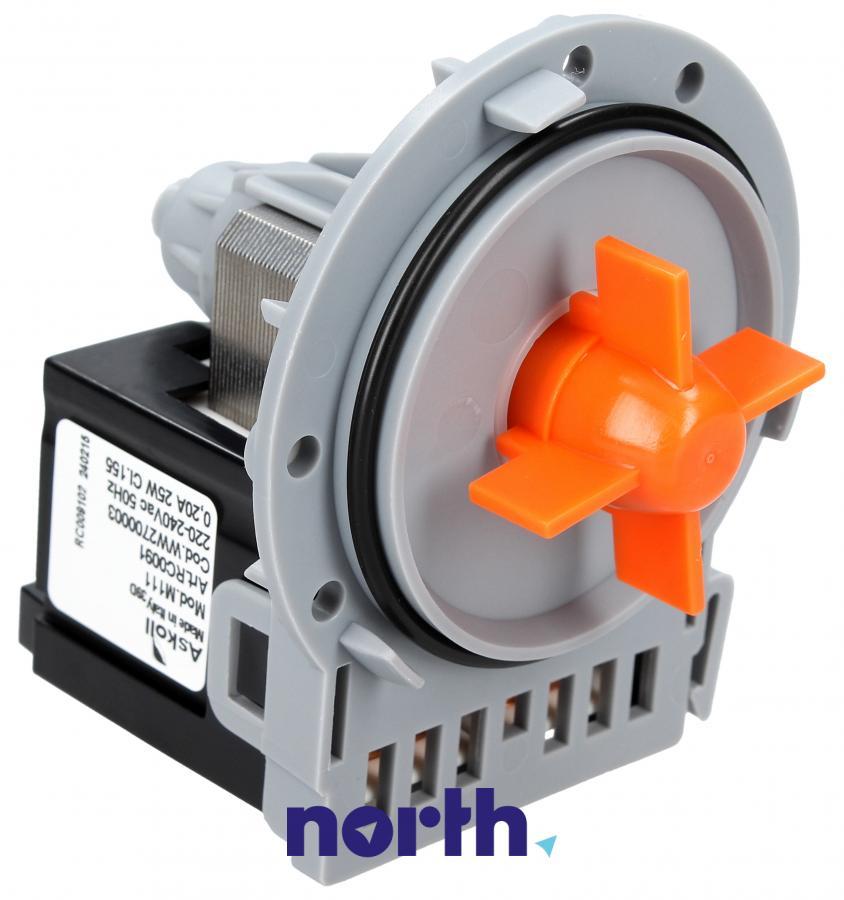 Silnik pompy odpływowej do pralki Vedette EBS0210059 AS6005275,0
