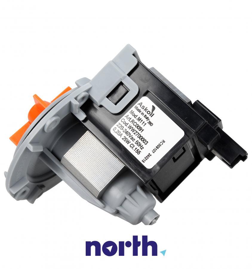 Silnik pompy odpływowej do pralki Vedette EBS0210059 AS6005275,2