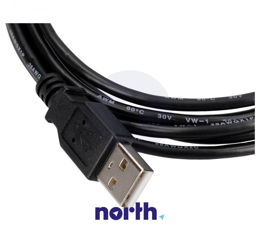 Kabel USB A - USB B mini 2.0 2m COM,1