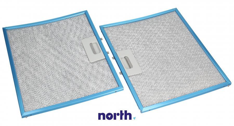 Filtr przeciwtłuszczowy kasetowy 29.5cm  x 24cm do okapu Whirlpool 481248058117,4