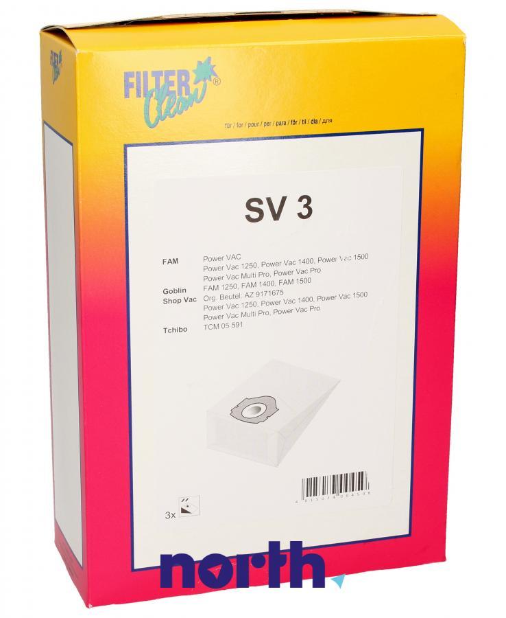 Worki SV3 3szt. do odkurzacza Aquavac,0