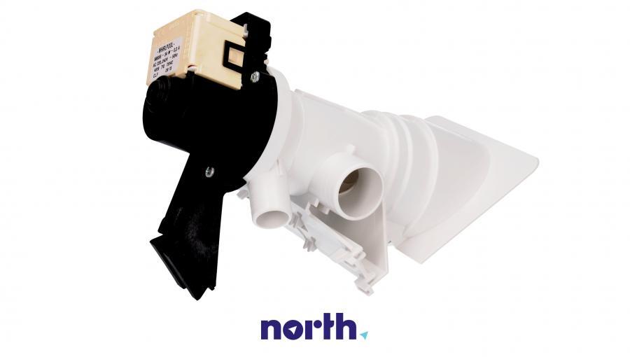 Pompa odpływowa kompletna (silnik + obudowa) do pralki Whirlpool 481231028144,0