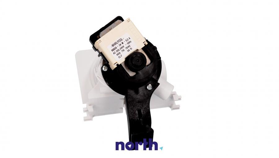 Pompa odpływowa kompletna (silnik + obudowa) do pralki Whirlpool 481231028144,1
