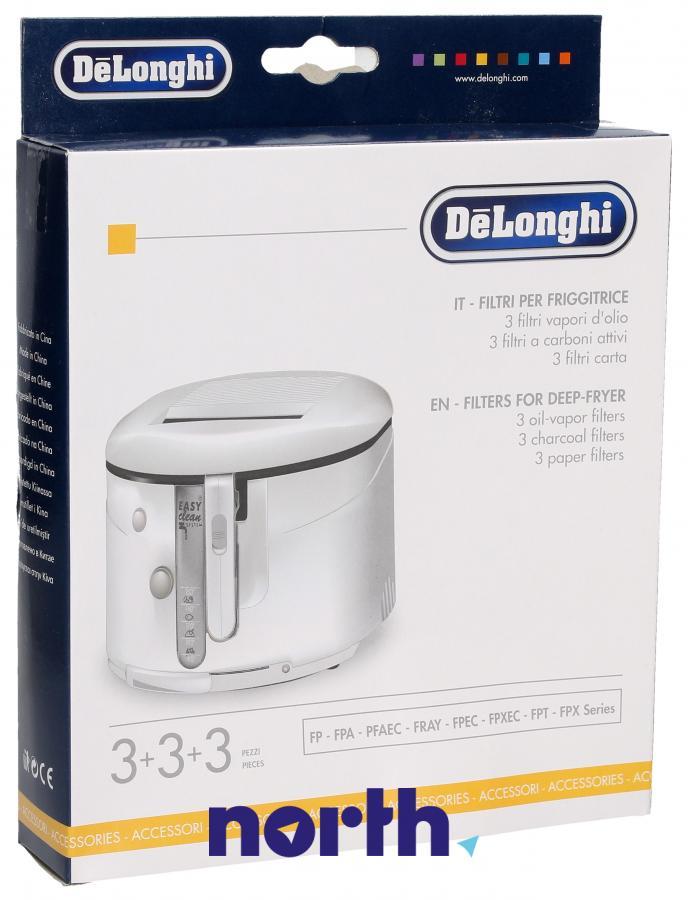 Filtry oleju do frytkownicy DeLonghi 5525103400,0
