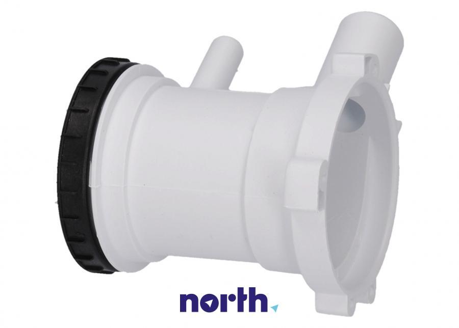 Filtr z obudową do pompy odpływowej do pralki Gorenje 606499,1