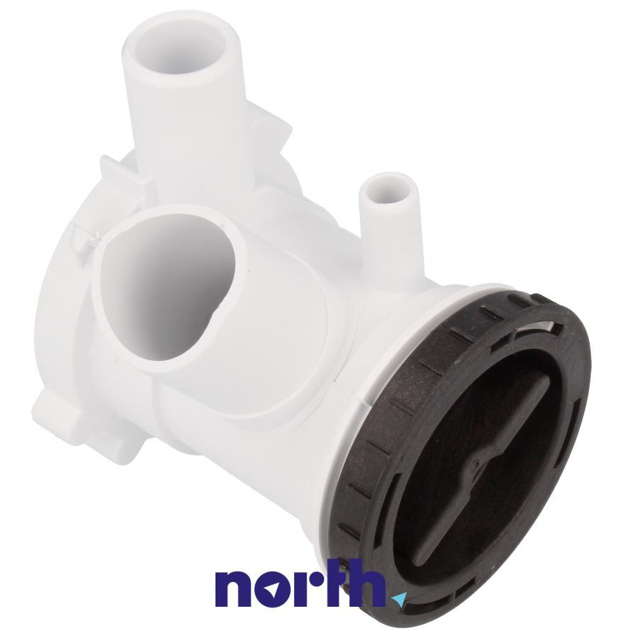 Filtr z obudową do pompy odpływowej do pralki Gorenje 606499,2