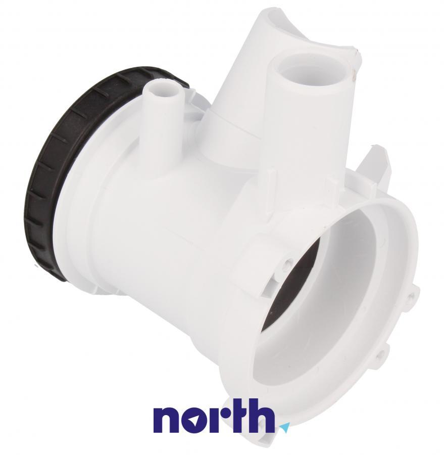 Filtr z obudową do pompy odpływowej do pralki Gorenje 606499,3
