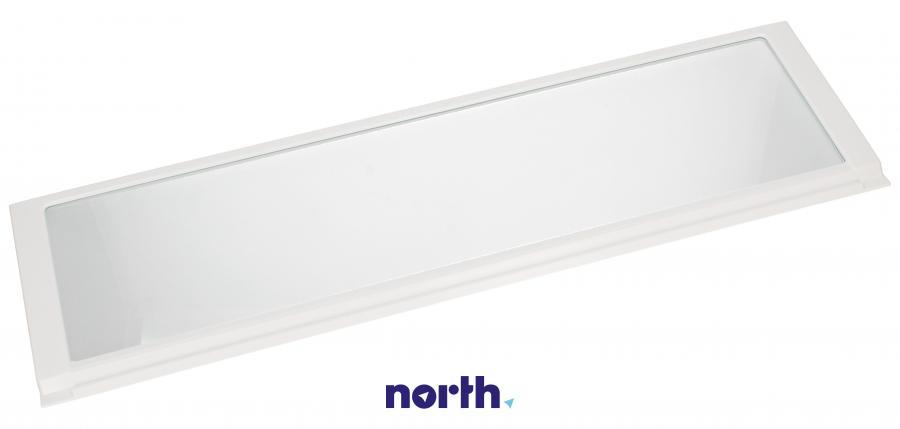 Półka szklana z ramkami do komory chłodziarki do lodówki Whirlpool 481245819182,0