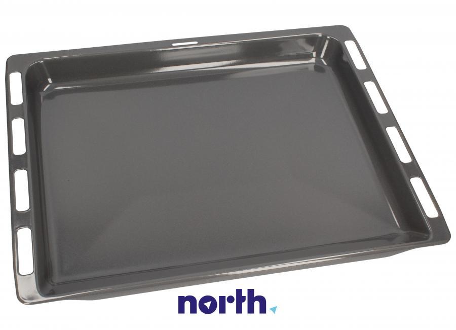 Blacha do pieczenia głęboka (emaliowana) 46.4x37.5cm do piekarnika Bosch 00434178,0