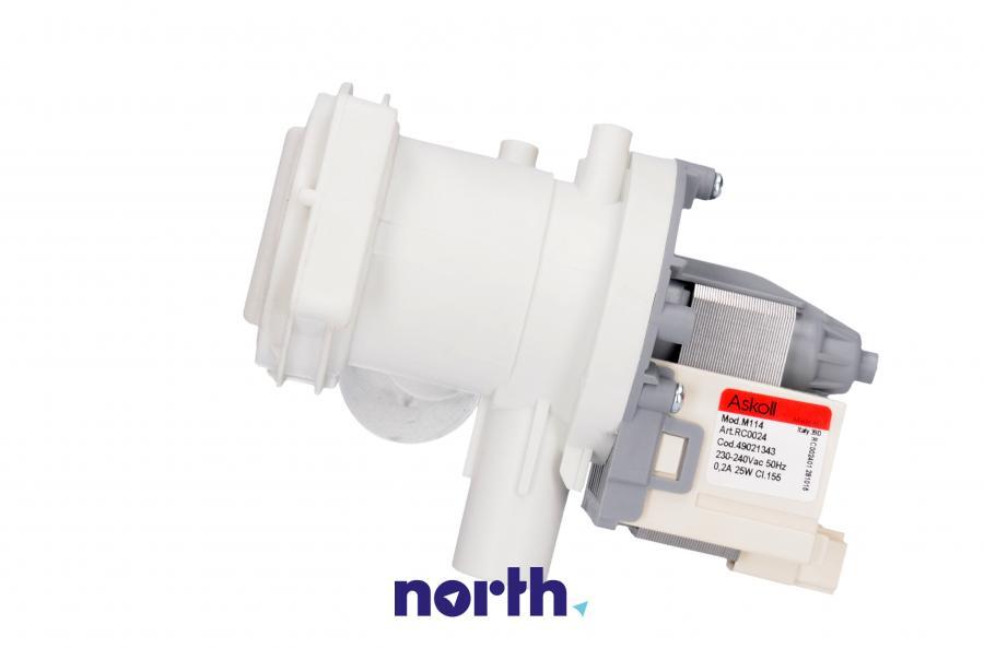 Pompa odpływowa kompletna (silnik + obudowa) do pralki Bosch RC0024,1