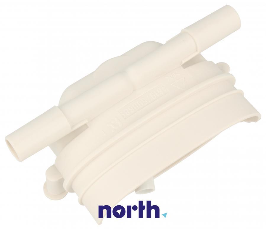 Dysza połączeniowa węża (elektrozawór-dozownik) do pralki Whirlpool 481252648122,0