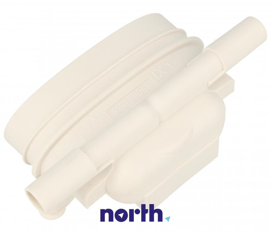 Dysza połączeniowa węża (elektrozawór-dozownik) do pralki Whirlpool 481252648122,1