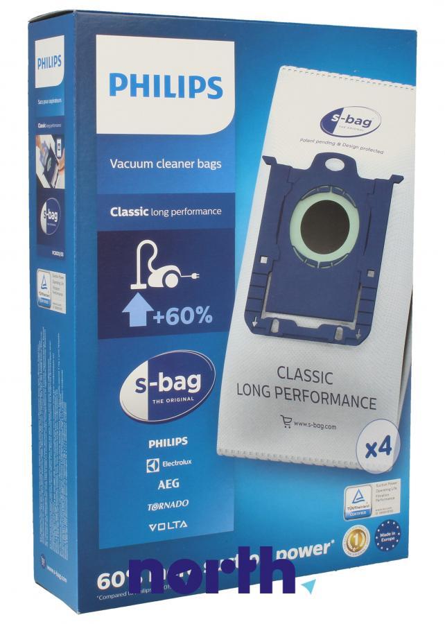 Worki S-Bag Classic Long Performance FC8021/03 4szt. do odkurzacza Electrolux,0